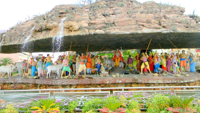 GovardhanMountain_ Nidhivan Sarovar portico vrindavan_ places to visit in Vrindavan