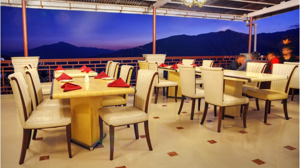 rOOF TOP at Summit Golden Crescent Resort Spa Gangtok 5