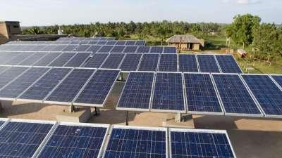 Our Native Village Bengaluru Our Native Village Solar Panels3