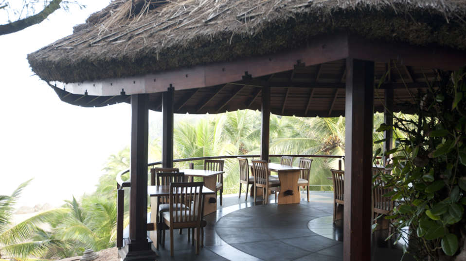 Restaurant at Niraamaya Retreats Surya Samudra, Kovalam Beach Resort 6