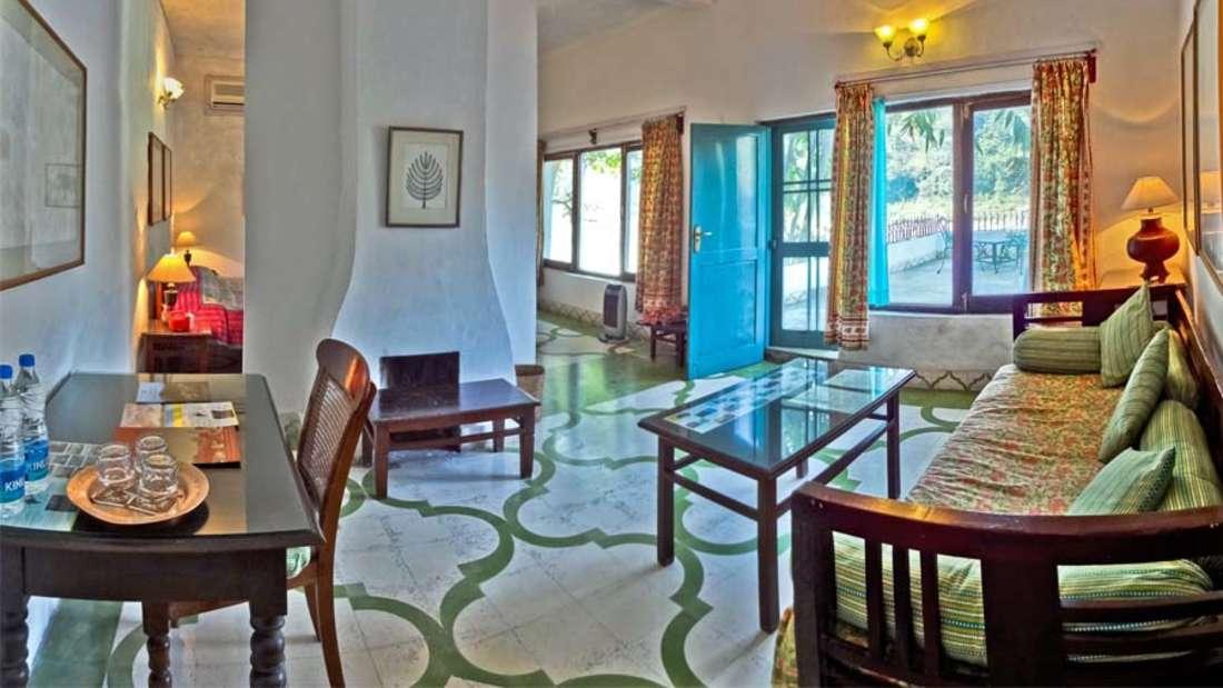 The Glasshouse on The Ganges - 21st C, Rishikesh Rishikesh Gagan-Van The Glasshouse on The Ganges Rishikesh 1