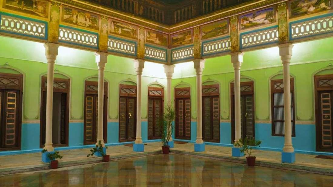 The Piramal Haveli - 20th C, Shekhavati Shekhavati Courtyard The Piramal Haveli Shekhavati Hotel Rajasthan