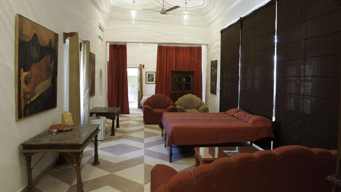 The Amrita-Vivan Mahal_Tijara Fort Palace_ Hotel Rooms in Rajasthan_Rooms Near Jaipur
