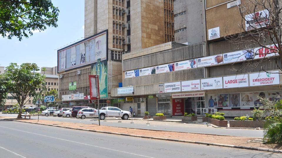 Lusaka-cairo road