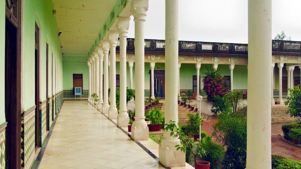 The Piramal Haveli - 20th C, Shekhavati Shekhavati Verandah The Piramal Haveli Shekhavati Hotel Rajasthan