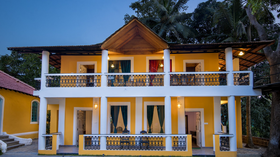 Villa at Bara Bungalow South Goa 5, Villas in South Goa near beach