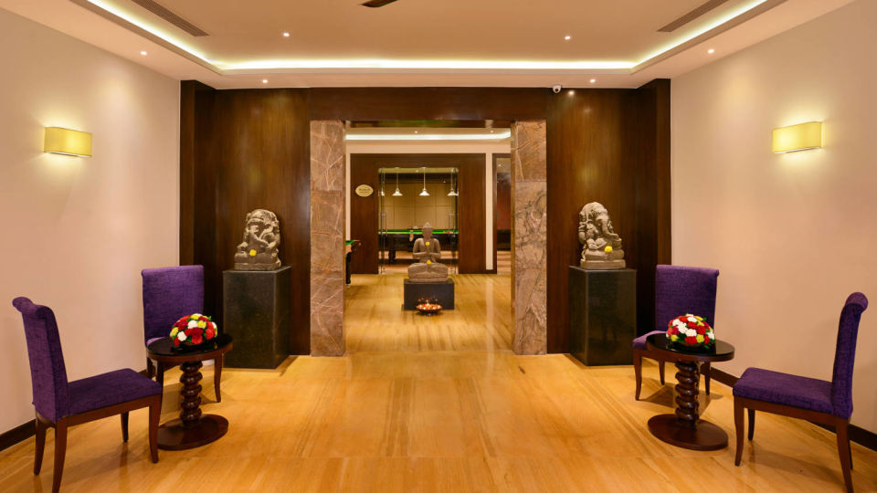 lobby of the Best Resorts in Udaipur