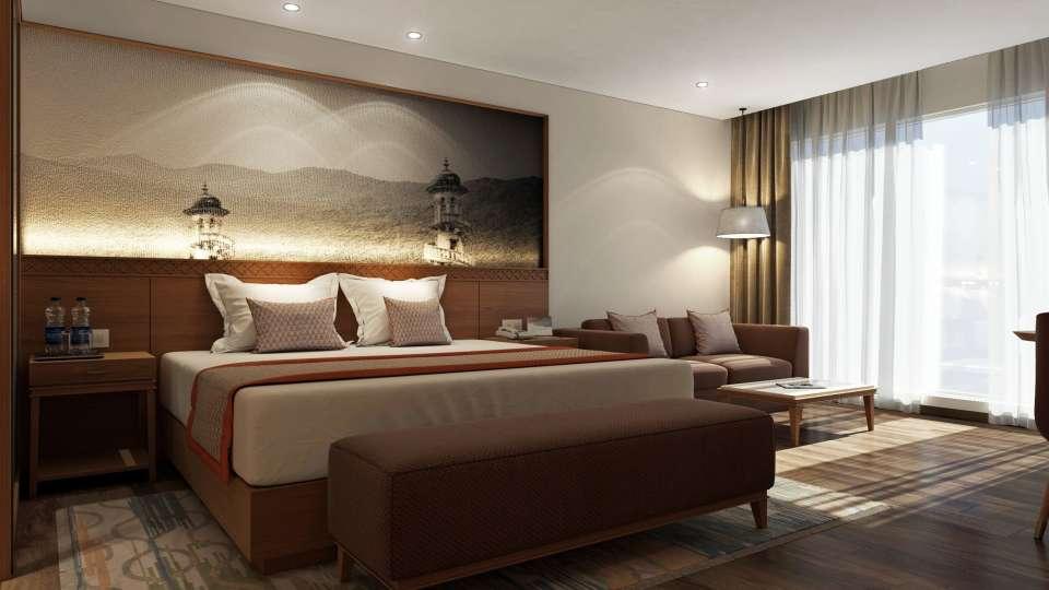 Deluxe Room Bellevue Sarovar Portico Junagadh 1