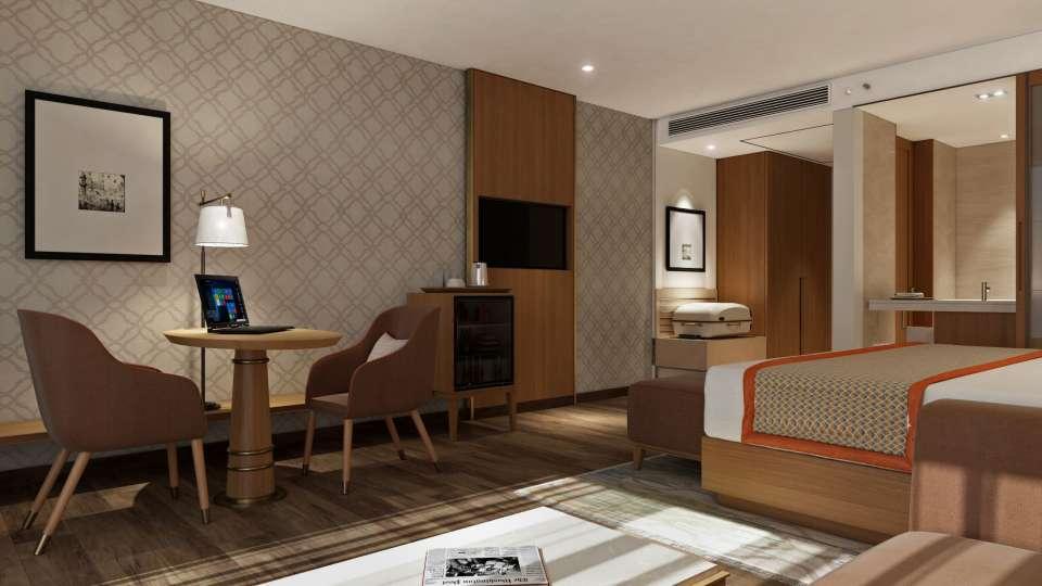 Deluxe Room Bellevue Sarovar Portico Junagadh
