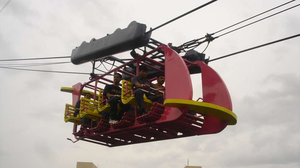Dry Rides - Hang Glider at  wonderla Amusement Park Bangalore