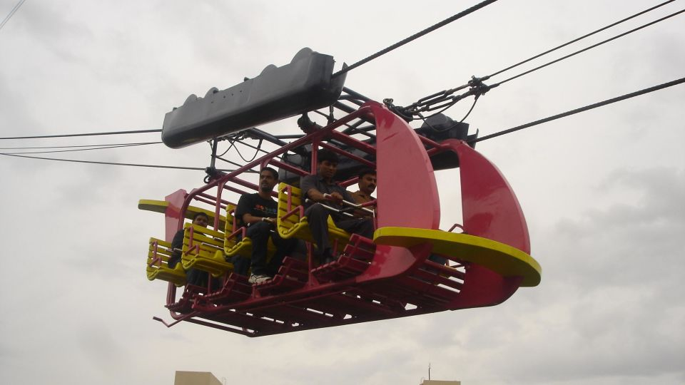 Dry Rides - Hang Glider at  wonderla Amusement Park Bangalore