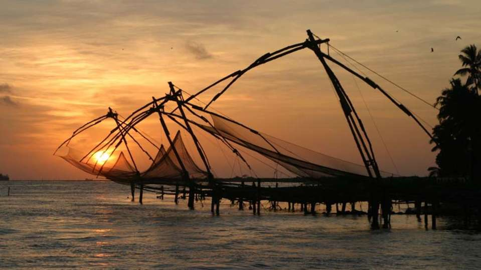 The Tower House - 17th C, Cochin Kochin Chinese fishing nets