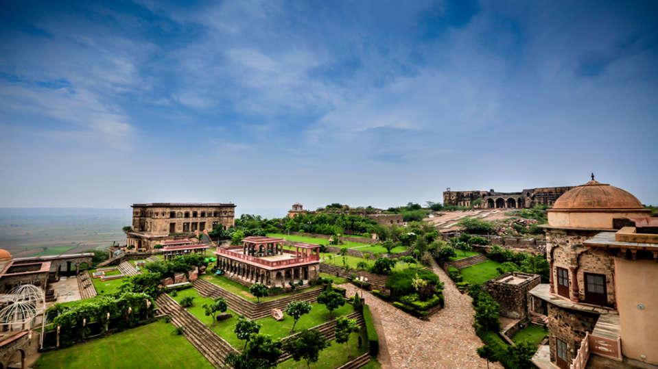Tijara Fort Palace - Alwar Alwar Exterior Facilities Hotel Tijara Fort Palace Alwar Rajasthan 3
