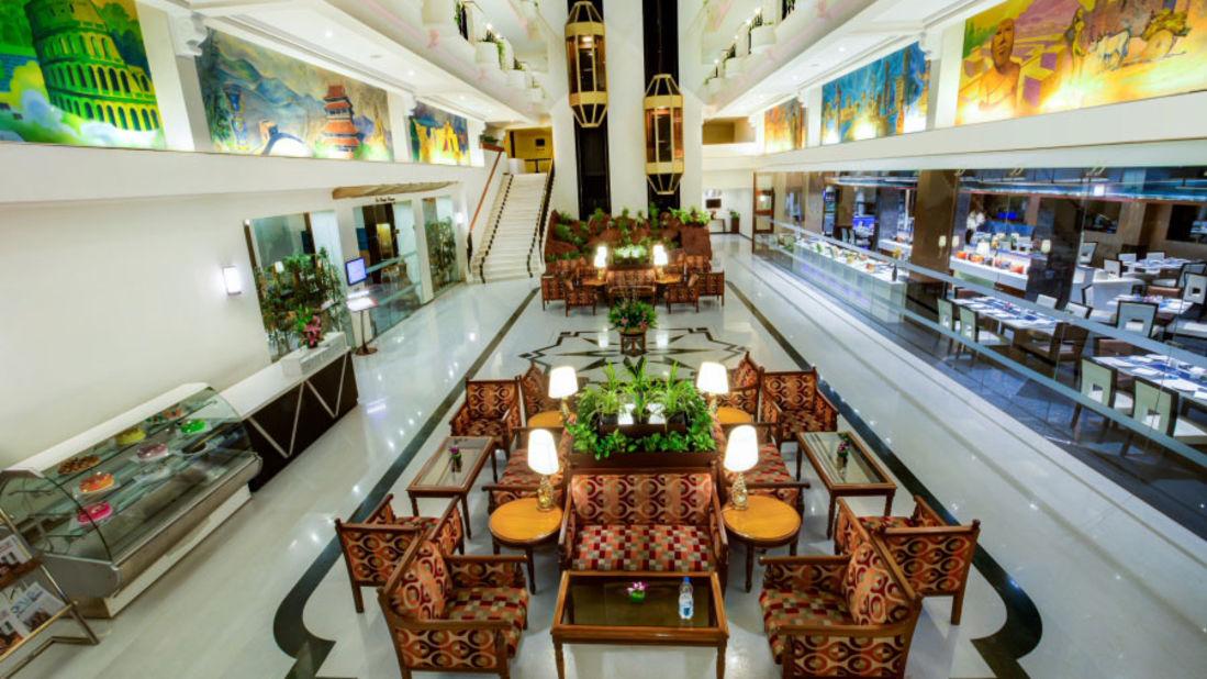 lobby Radha Regent Chennai