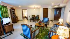 Living Area - Suite Radha Regent Chennai