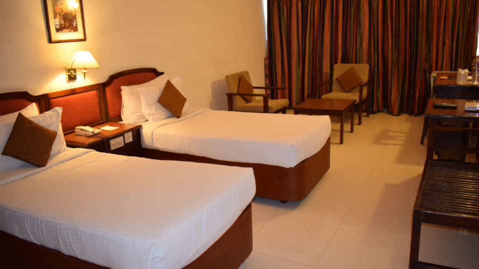 Twin bed rooms in Cochin, Hotel rooms in Cochin, Abad Fort Kochi-18