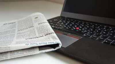 Newspaper facility at Marasa Sarovar Portico Rajkot Business Hotel in Rajkot, Near Rajkot airport