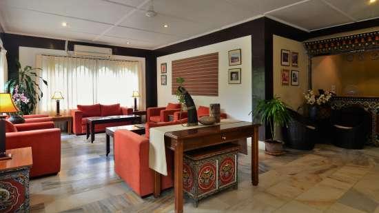 Reception-Lobby at Dragon s Nest Punakha