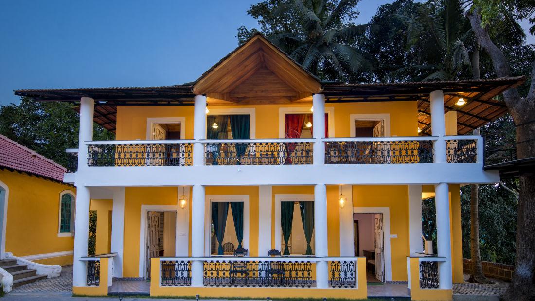 Villa at Bara Bungalow South Goa 5, Villas in South Goa near beach