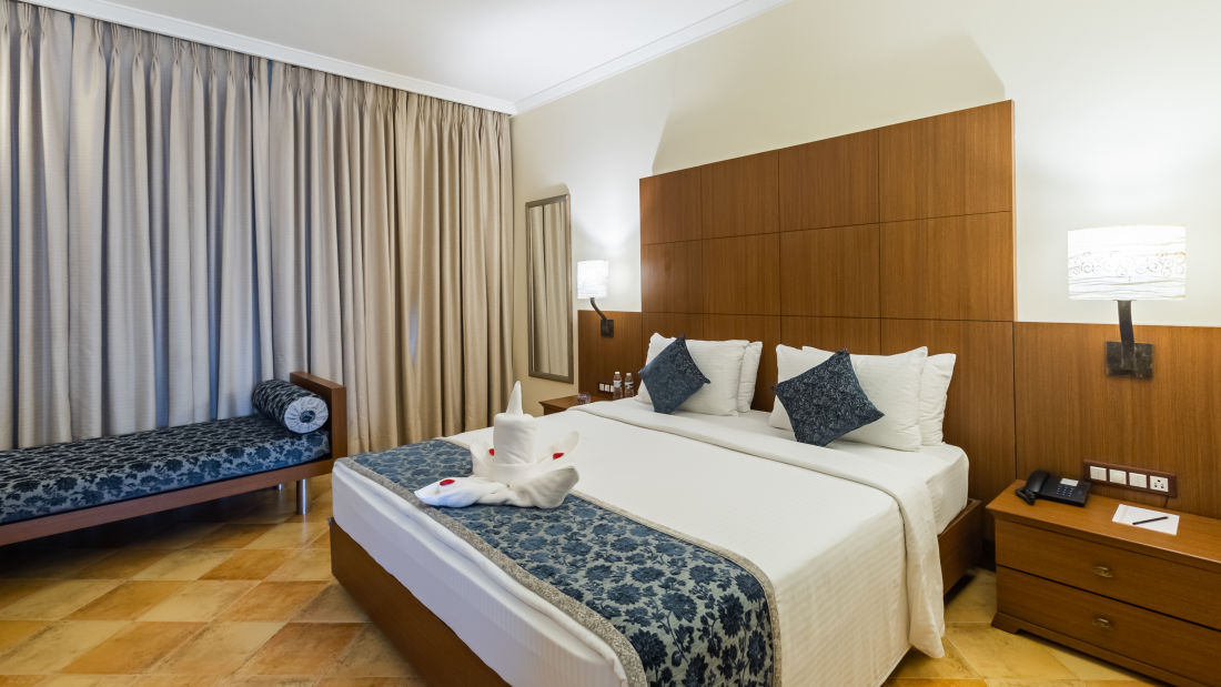 Deluxe Rooms, Heritage Village Resort and Spa, Hotel Rooms in South Goa