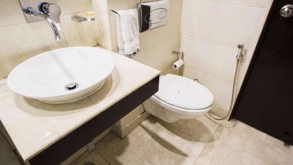 Deluxe Room Rockland Hotel Chittaranjan Park New Delhi Hotel in CR Park 5