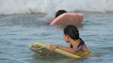 bumper water ride, Lotus Beach Resort, Murud Beach Dapoli, Ratnagiri