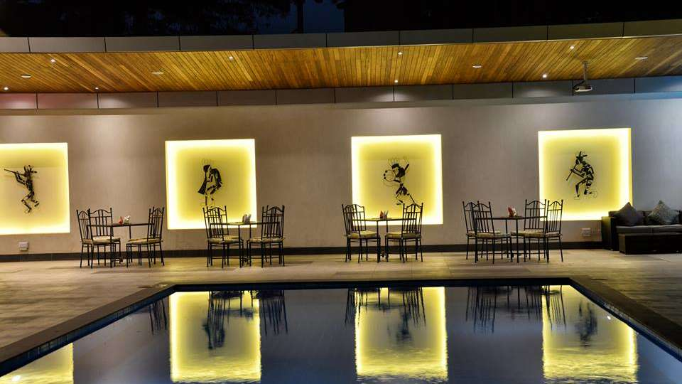 Swimming Pool at Restaurant at The Zehneria Portico Nairobi 5 Star Hotels in Nairobi 5