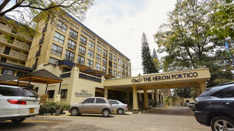 Facade at The Heron Portico Nairobi