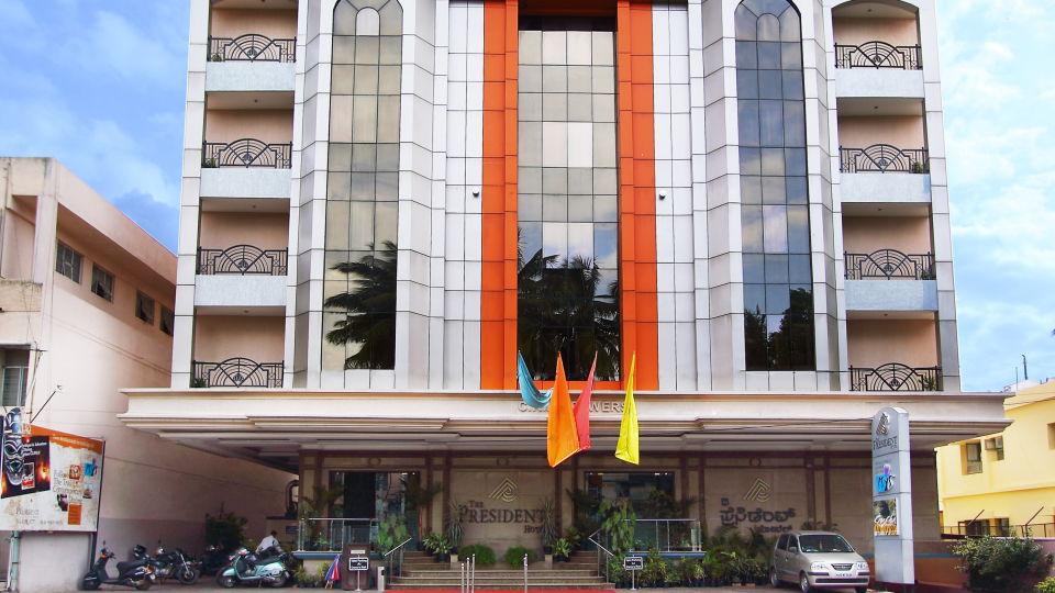 The President Hotel, Jayanagar, Bangalore Bangalore Facade The President Hotel Jayanagar Bangalore 2