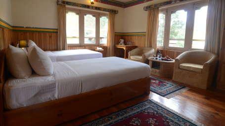 Deluxe Room at Tashi Phuntshok Hotel Paro 2