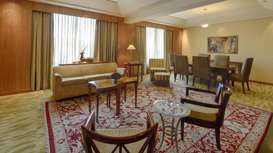 The Grand New Delhi New Delhi Presidential Suite 1 at The Grand New Delhi Hotel on Nelson Mandela Road