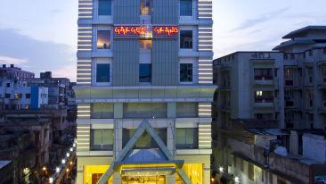 Facade of Hotel Gargee Grand in Patna