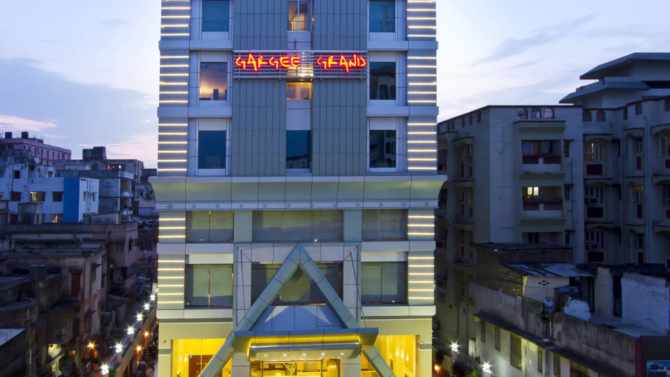 Facade of Hotel Gargee Grand in Patna