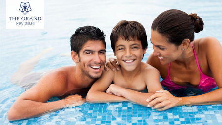 Family Vacation Offer, The Grand New Delhi, Vacations in New Delhi
