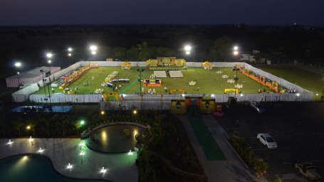 TGI Nandan Kanan, Dewas Dewas Aerial TGI Hotel Nandan Kanan Dewas4
