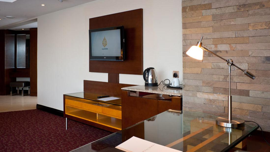 Executive Suites - TV area