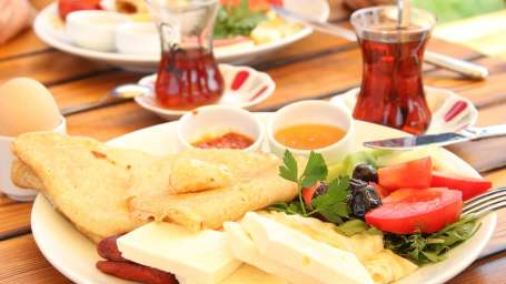 Heritage Resort Coorg Coorg Breakfast with a view Indoasia Hotels