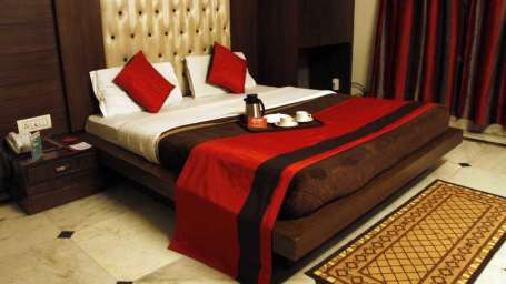 Welcome Group of Hotels, Delhi  Double Deluxe Room Hotel Welcome Palace Pahrganj Delhi