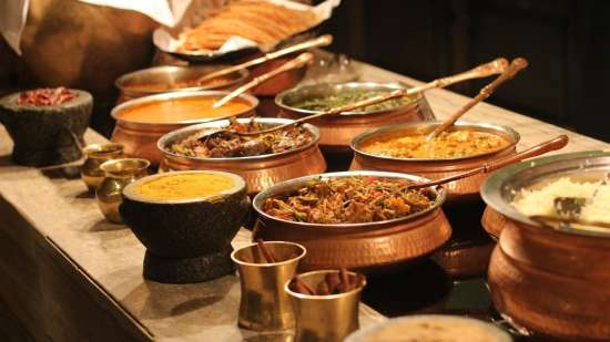 Dining at RBD Sarovar Portico Bangalore, business hotels in bangalore