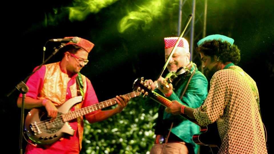 Music Festival at Fort Jadhavgadh Heritage Resort Hotel Pune