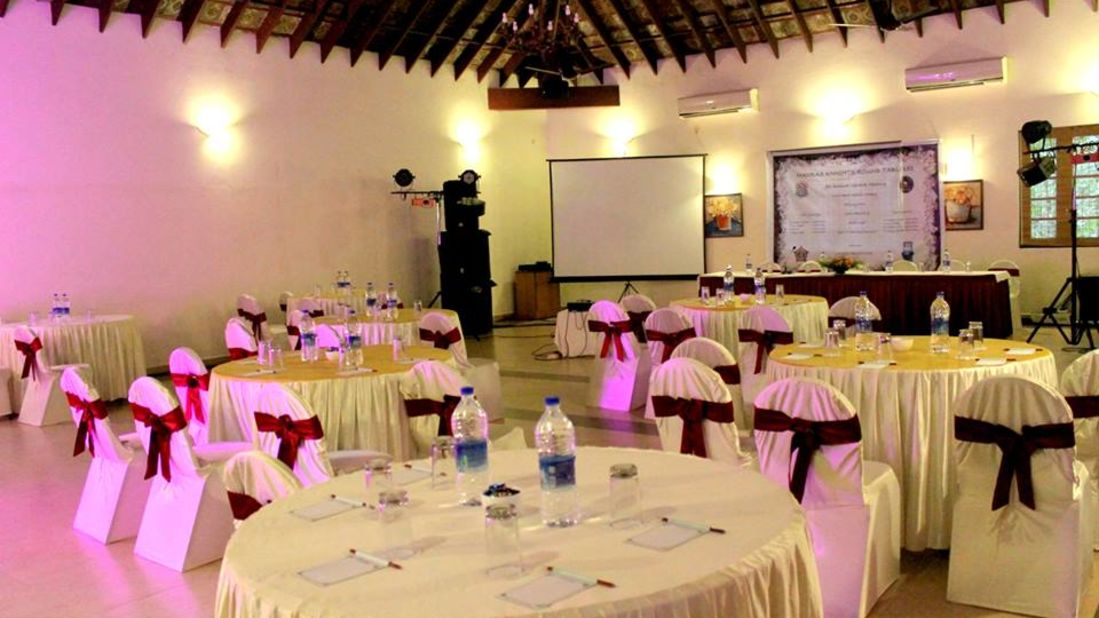 Banquet hall 2, Contact Beach Resort in Marari, Beach resorts in Allepey, 4 Star Resorts in Alleppey, Best Beach Resorts in Alleppey, Best Beach Resorts Near Cochin, Beach Resorts in Kerala