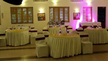 Banquet hall 3, Contact Beach Resort in Marari, Beach resorts in Allepey, 4 Star Resorts in Alleppey, Best Beach Resorts in Alleppey, Best Beach Resorts Near Cochin, Beach Resorts in Kerala