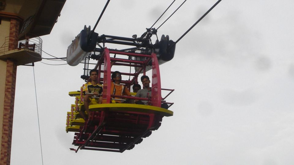 Dry Rides - Hang Glider at  wonderla Amusement Park Bengaluru