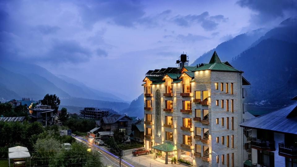 Facade Summit Chandertal Regency Hotel Spa Manali Hotels in Manali 1