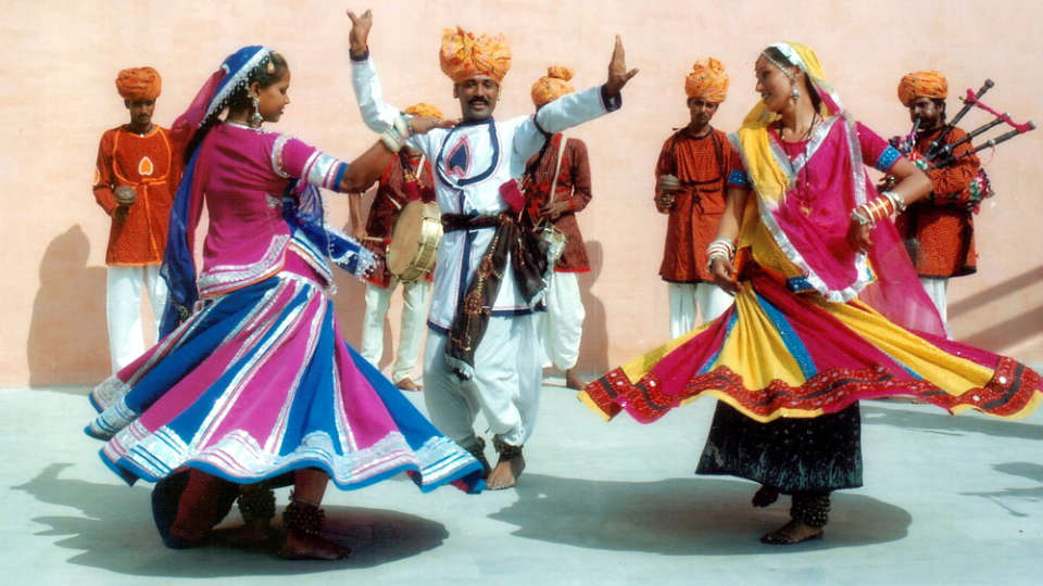 Rajasthan Folk Dance at Umaid Lake Palace Hotel Kalakho Dausa Rajasthan