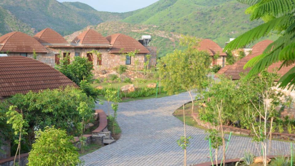facade of Ananta Udaipur 41