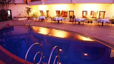 Swimming Pool at Hotel Sarovar Portico Lonavala