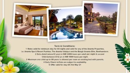 3 night pkg with 4 night comp for all units