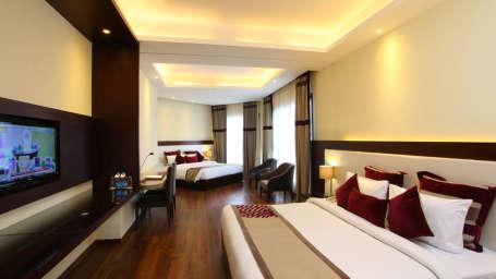Family Rooms Marigold Sarovar Portico Shimla