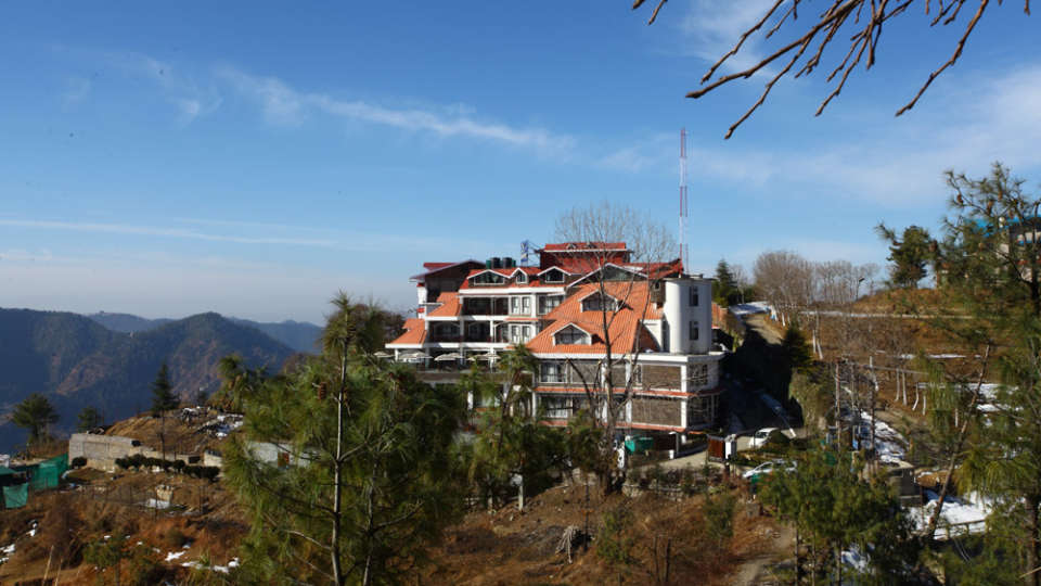 Facade Marigold Sarovar Portico Shimla, best resorts in shimla dsv